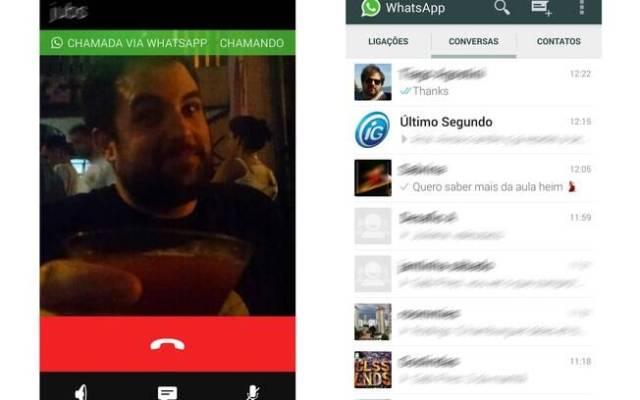 Nova versão do Whats App para Android possui recurso de chamadas telefônicas via app, mas é preciso receber uma ligação de convite para que a função comece a funcionar