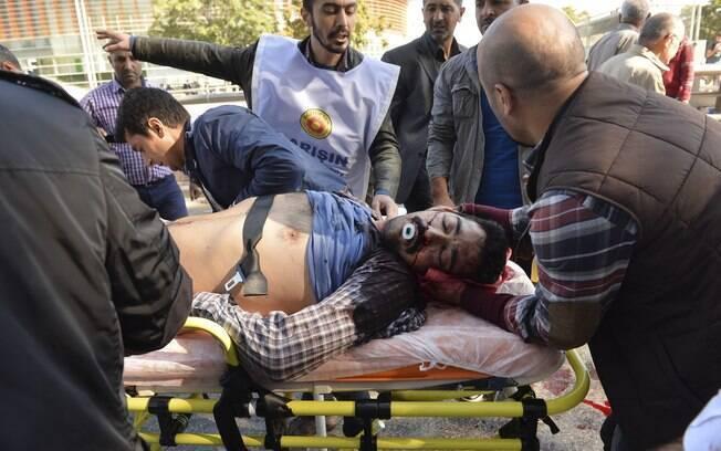 Segundo autoridades do governo, as explosões foram um ataque terrorista