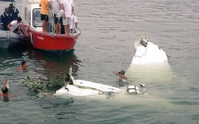 Avião caiu em Paraty (RJ) nesta quinta-feira (19): entre passageiros estava o ministro do STF