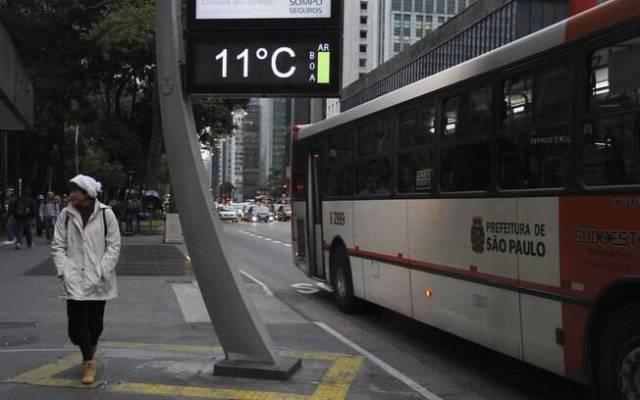 Previsão do tempo para São Paulo é de dia frio