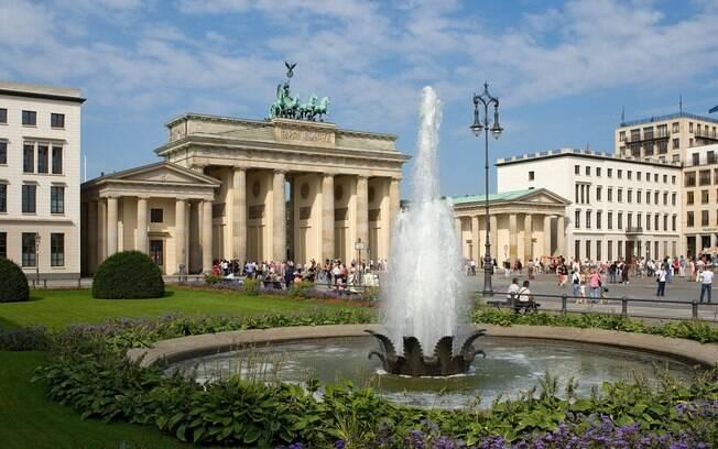 Portão de Brandemburgo, em Berlim