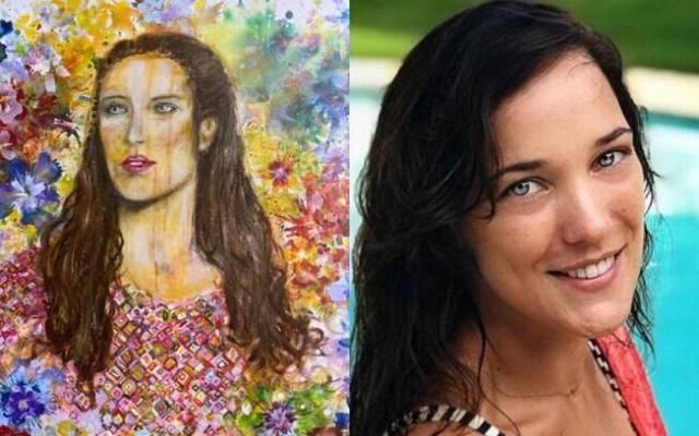 Retrato de Bianca Bin e Adriana Birolli