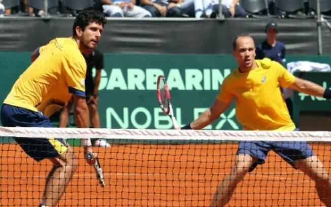 Marcelo Melo e Bruno Soares podem dar ao Brasil as primeiras medalhas no tênis em Olimpíadas