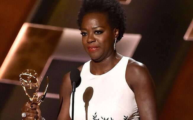 Viola Davis foi a primeira negra a ganhar o prêmio de melhor atriz em série dramática