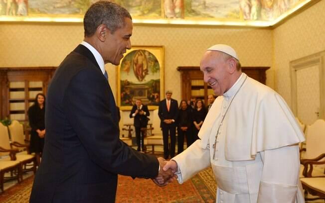 Resultado de imagem para vaticano obam