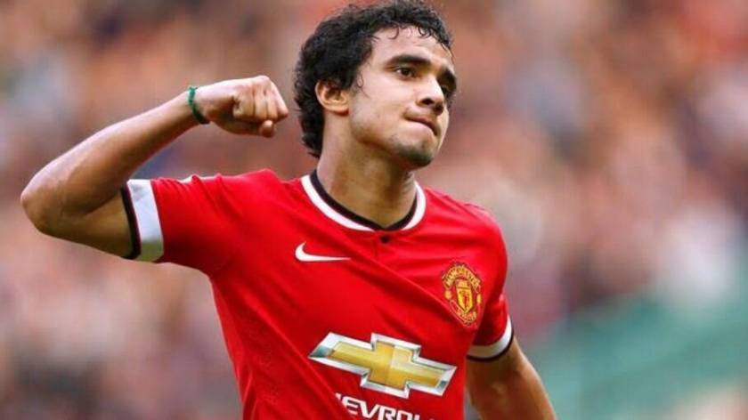 Rafael during his time at Manchester United