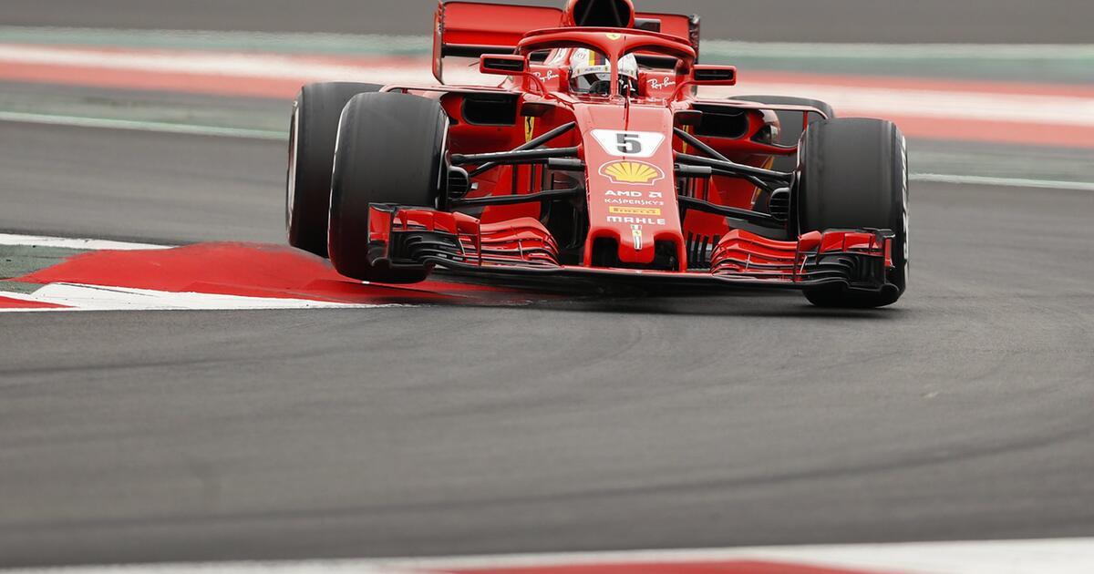 Vettel Startet Mit Cooler Test Bestzeit In Die WM Mission