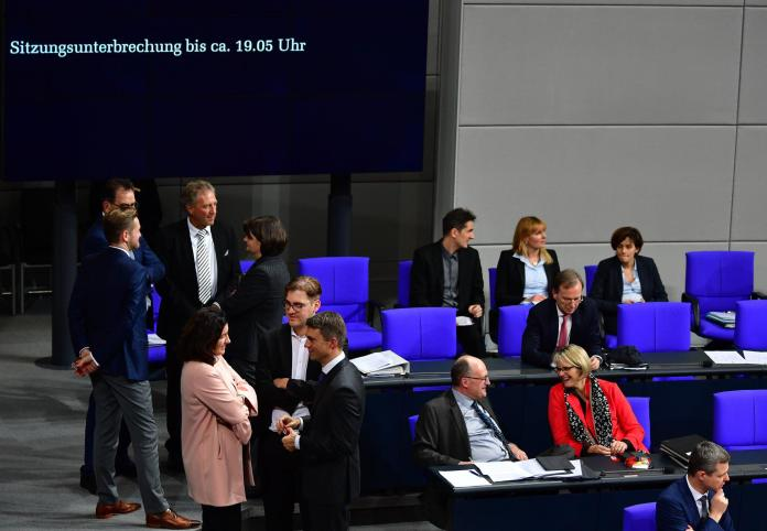 Picture to Bundestag