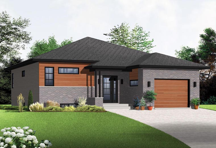 Modern House Plans With 1000-1500 Square Feet