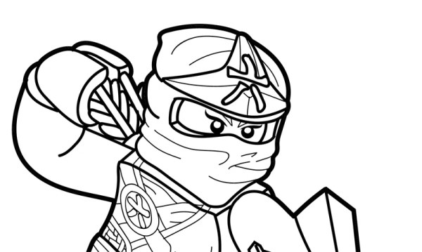 new ninjago coloring pages # 16