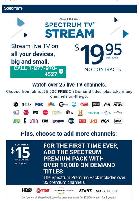 """Spectrum TV Just Launched a """"Sports FREE"""" Live TV ..."""