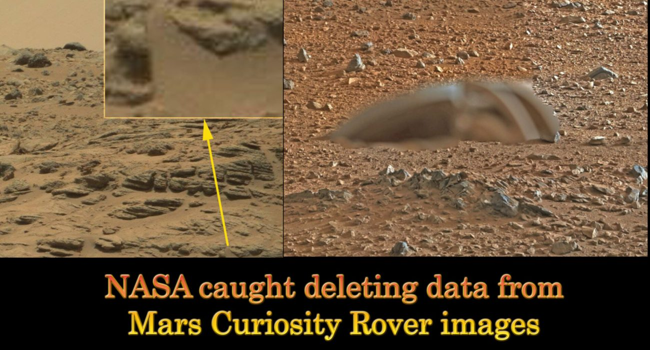 NASA caught deleting data from Mars Curiosity Rover images ...