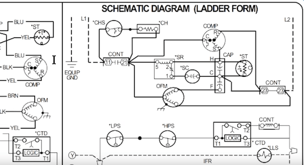 How To Read AC Schematics And Diagrams Basics