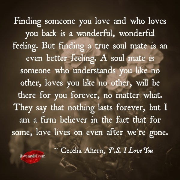 I Love My Soul Mate Quotes. QuotesGram
