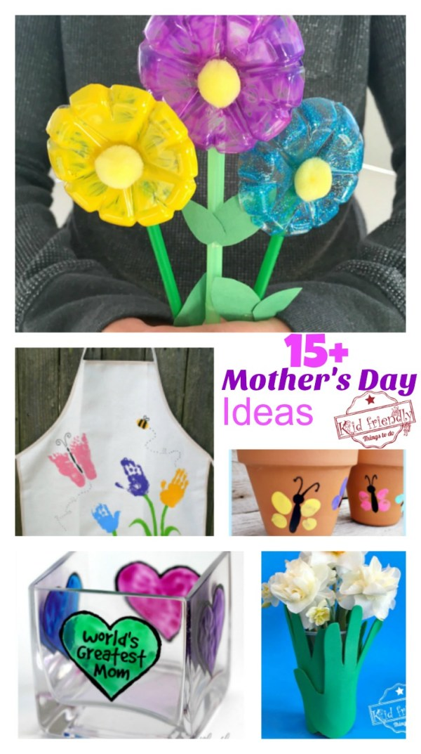 Over 15 Mother's Day Crafts That Kids Can Make for Gifts