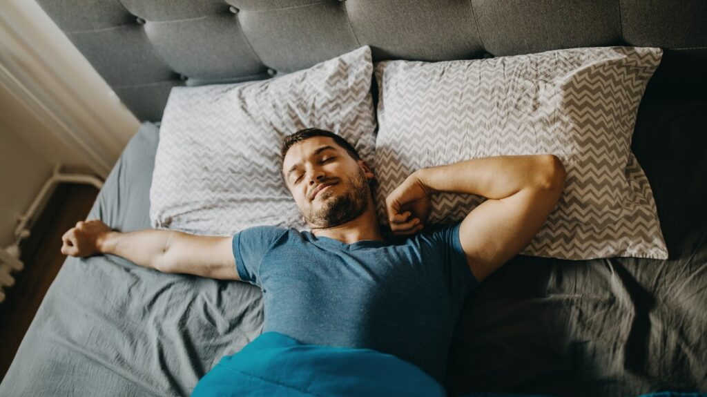 how to sleep on your back tips and