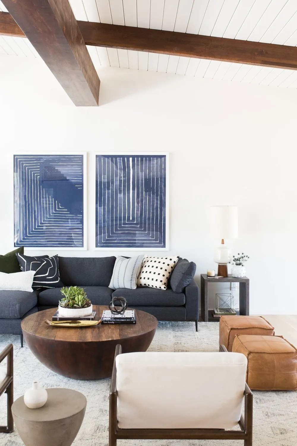 pairing sectional sofas and coffee