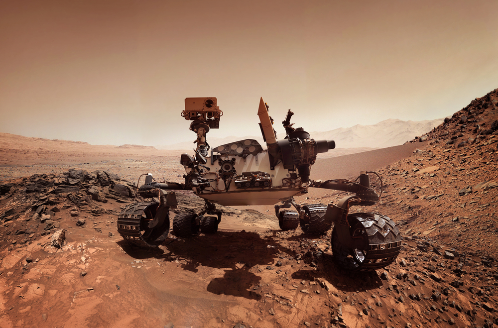 Nasa Curiosity Rover Finds Building Block For Life on Mars ...