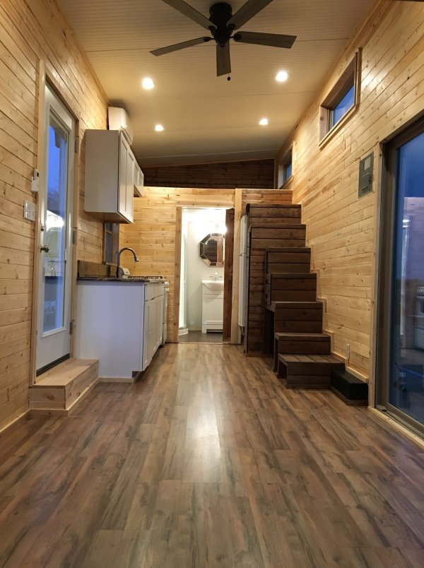 Cannon Tiny House With Fold Down Porch