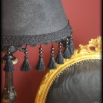 Diy Victorian Gothic Black Lamp Shade Floor Lamp Goth Home Decor Me And Annabel Lee