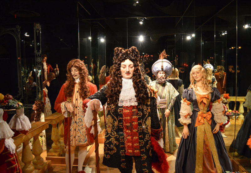 Grevin Wax Museum Paris - Our World Travel Selfies