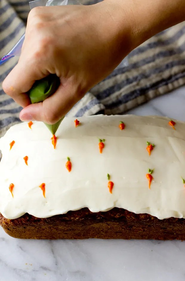 Carrot Cake Loaf The Gourmet Gourmand
