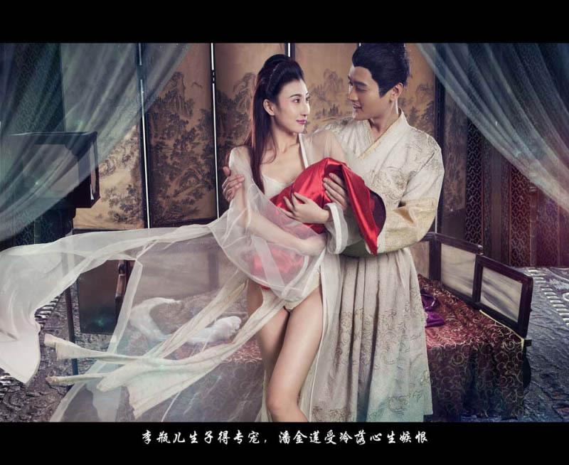 《新金瓶梅》龔玥菲上演絕色誘惑 全套艷照奉送[分享] - 娛樂八卦 - 華聲論壇