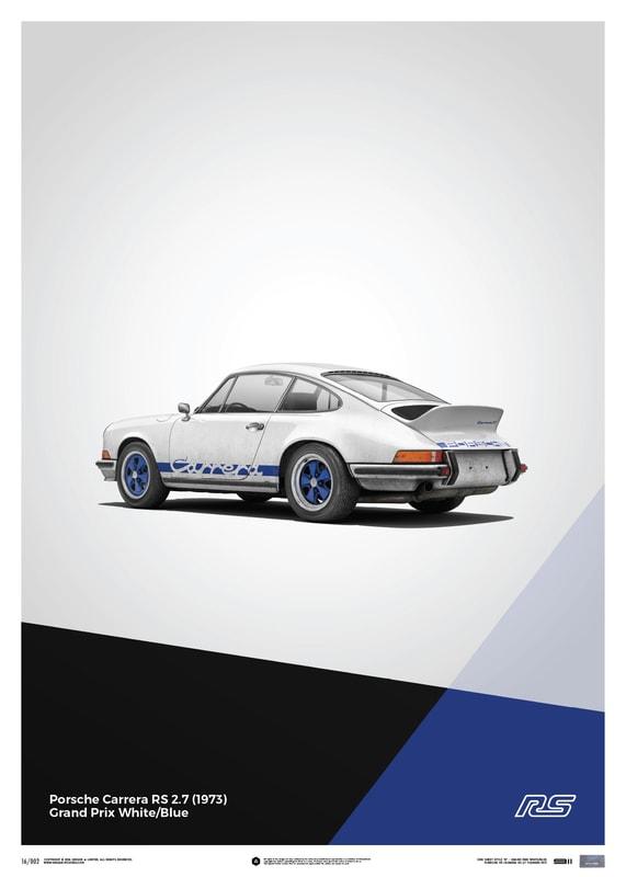 art posters art vintage porsche 911