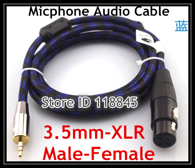 jack Canon female to plug 3,5mm