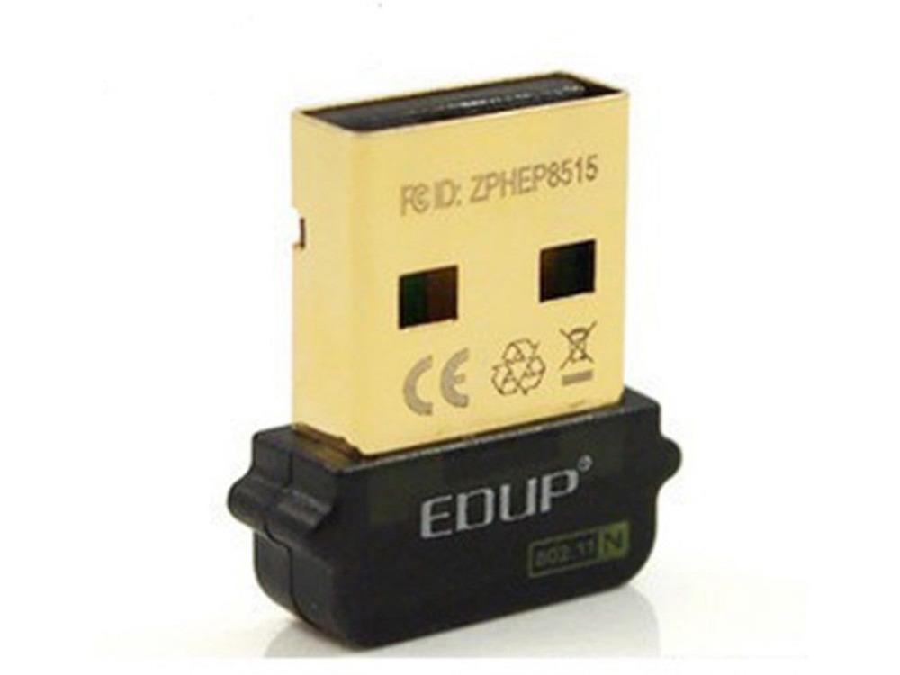 Free shipping! EDUP EP-N8508GS USB 150 Mbps Wireless Wifi Mini 150M Network Card 802.11 n/g/b for For Raspberry Pi 512M Model B