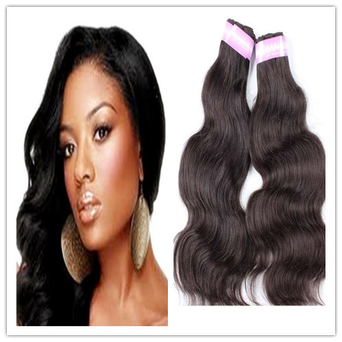 free shipping indian hair body wave 2pcs lot 100 human hair extension cheap weave queen hair