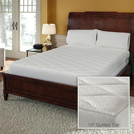 Concierge Collection 10 Memory Foam Quilted Mattress T