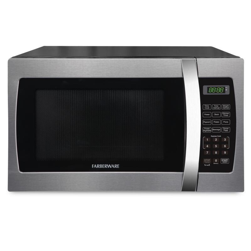 farberware professional 1 3 cu ft 1000 watt microwave oven