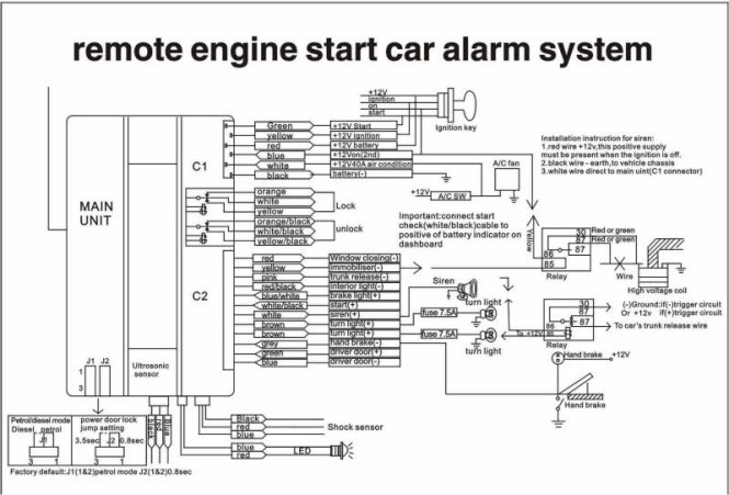 auto start wiring diagrams wiring diagram avital remote starter wiring diagram and schematic