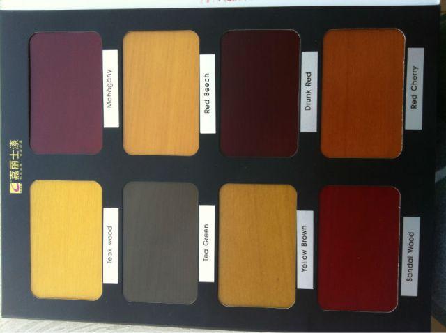 Maydos nitrocelulose cores laca madeira Stain para verniz de madeira ...