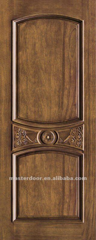 Exterior Solid Wooden Doors