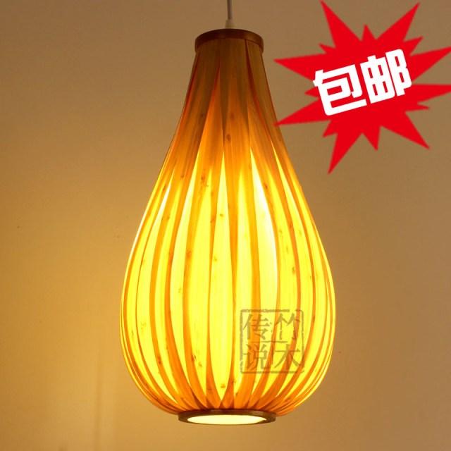 pendant light veneer bedroom lamps stair bar lighting free shipping