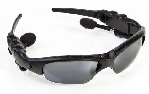 Bluetooth solglasögon med headset - Blåtands solbrillor med handsfree