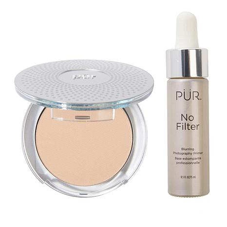 PUR 4-in-1 Mineral Foundation with No Filter Primer ...