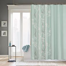 madison park athena shower curtain