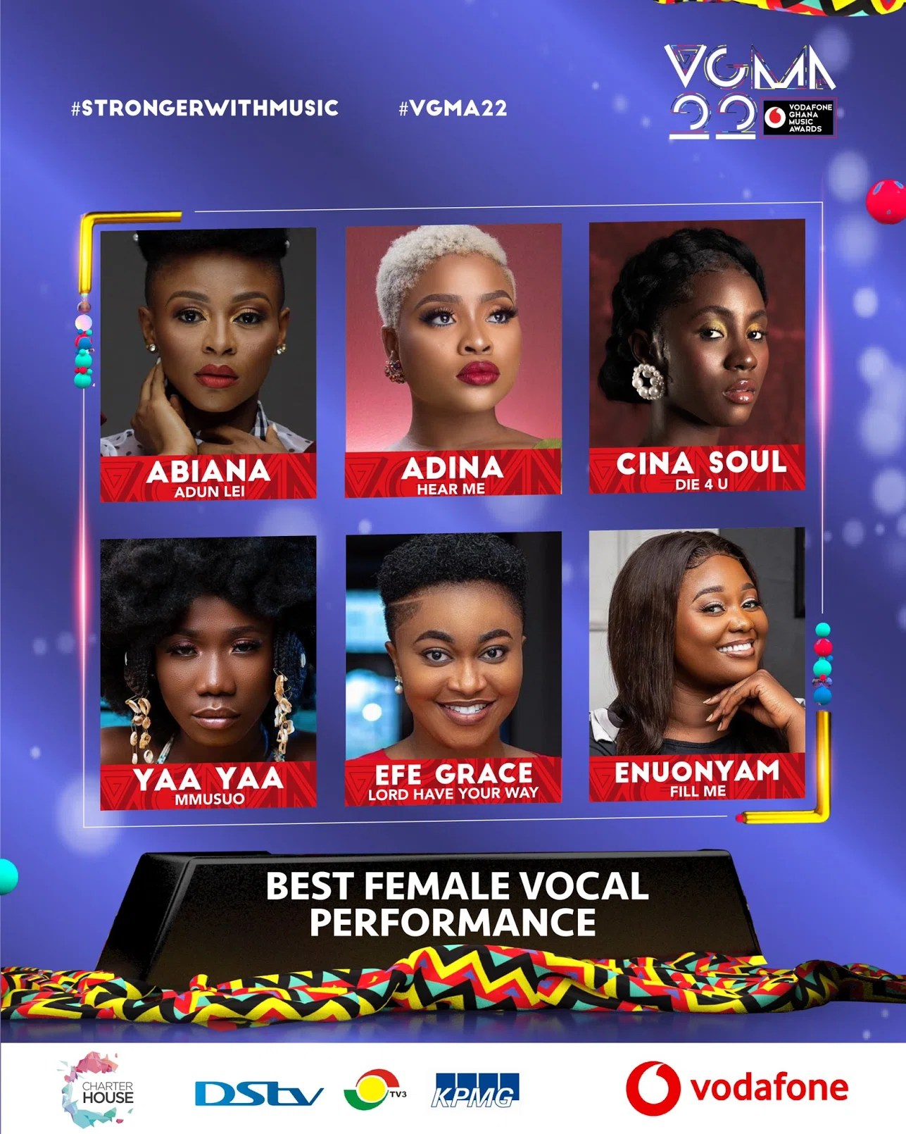 20210403 150655 Chartered House Has Released The Nominees List Of The 22nd Edition Of VGMA Awards