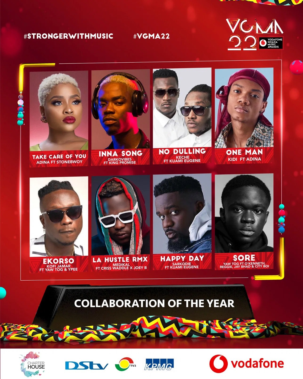 20210403 163003 Chartered House Has Released The Nominees List Of The 22nd Edition Of VGMA Awards