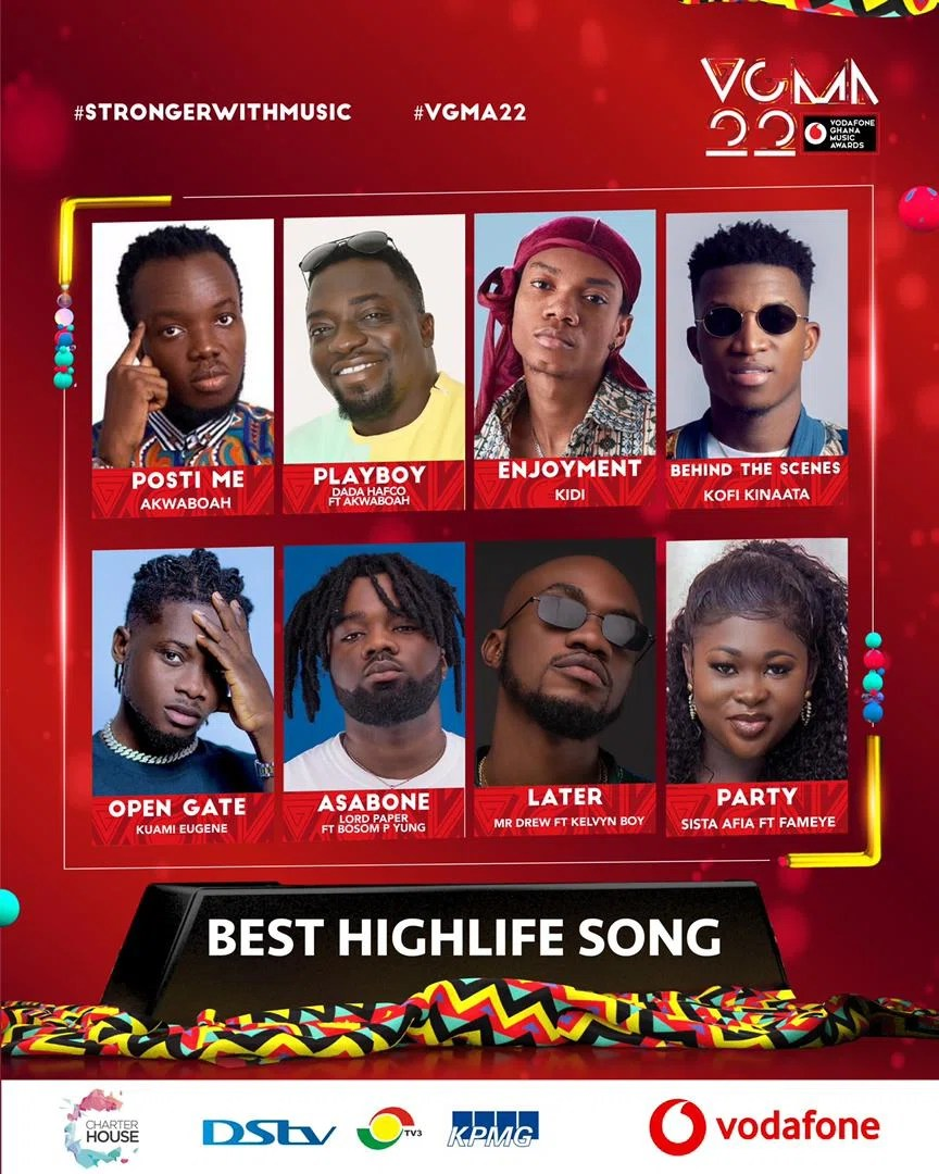 IMG 20210403 WA0008 1 Chartered House Has Released The Nominees List Of The 22nd Edition Of VGMA Awards