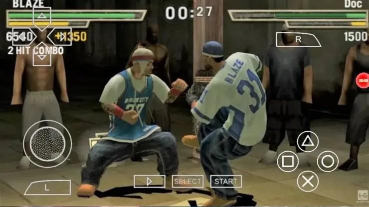 Def Jam PSP Gameplay