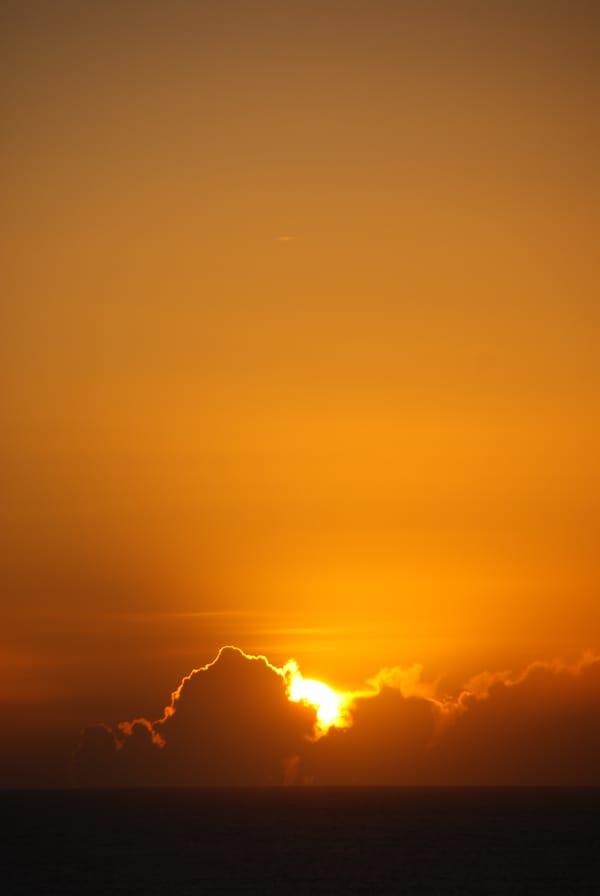Обои для рабочего стола: закат, солнце, облака