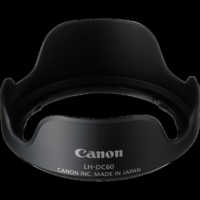 """""""Pare-soleil LH-DC60 Canon"""" canon powershot sx530 hs Canon PowerShot SX530 HS (Certified Refurbished) lens hood lh dc60 png"""