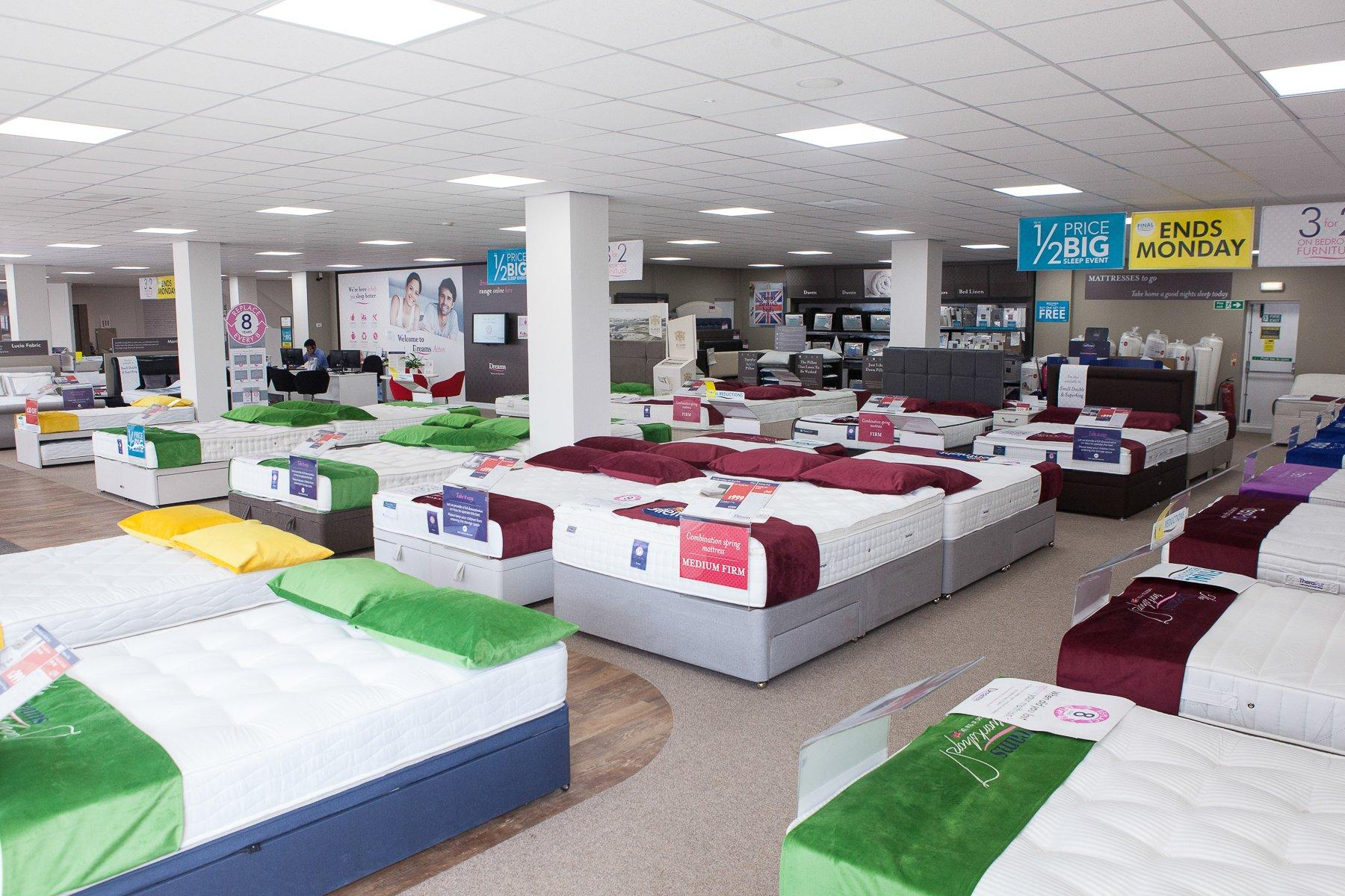 Dreams Store In Acton - Beds, Mattresses & Furniture