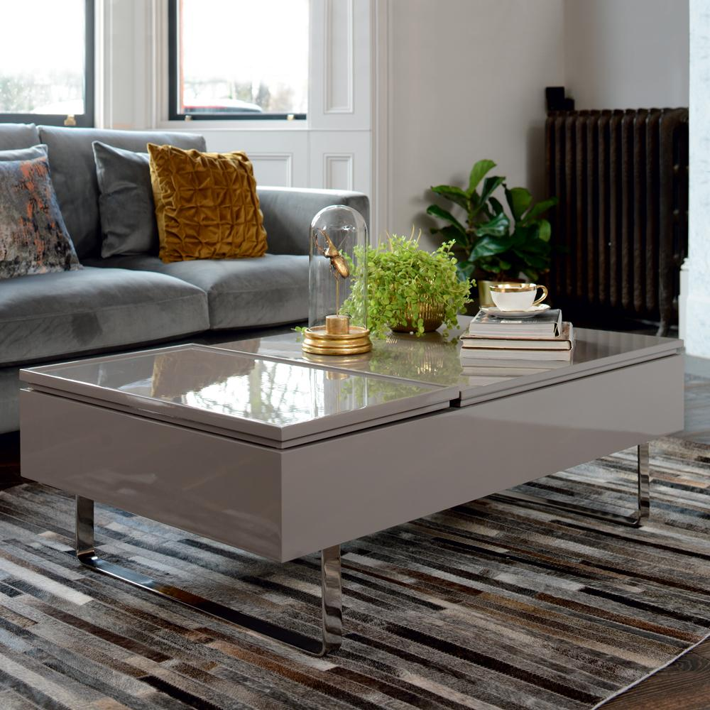 misto coffee table double lifting stone dwell 499