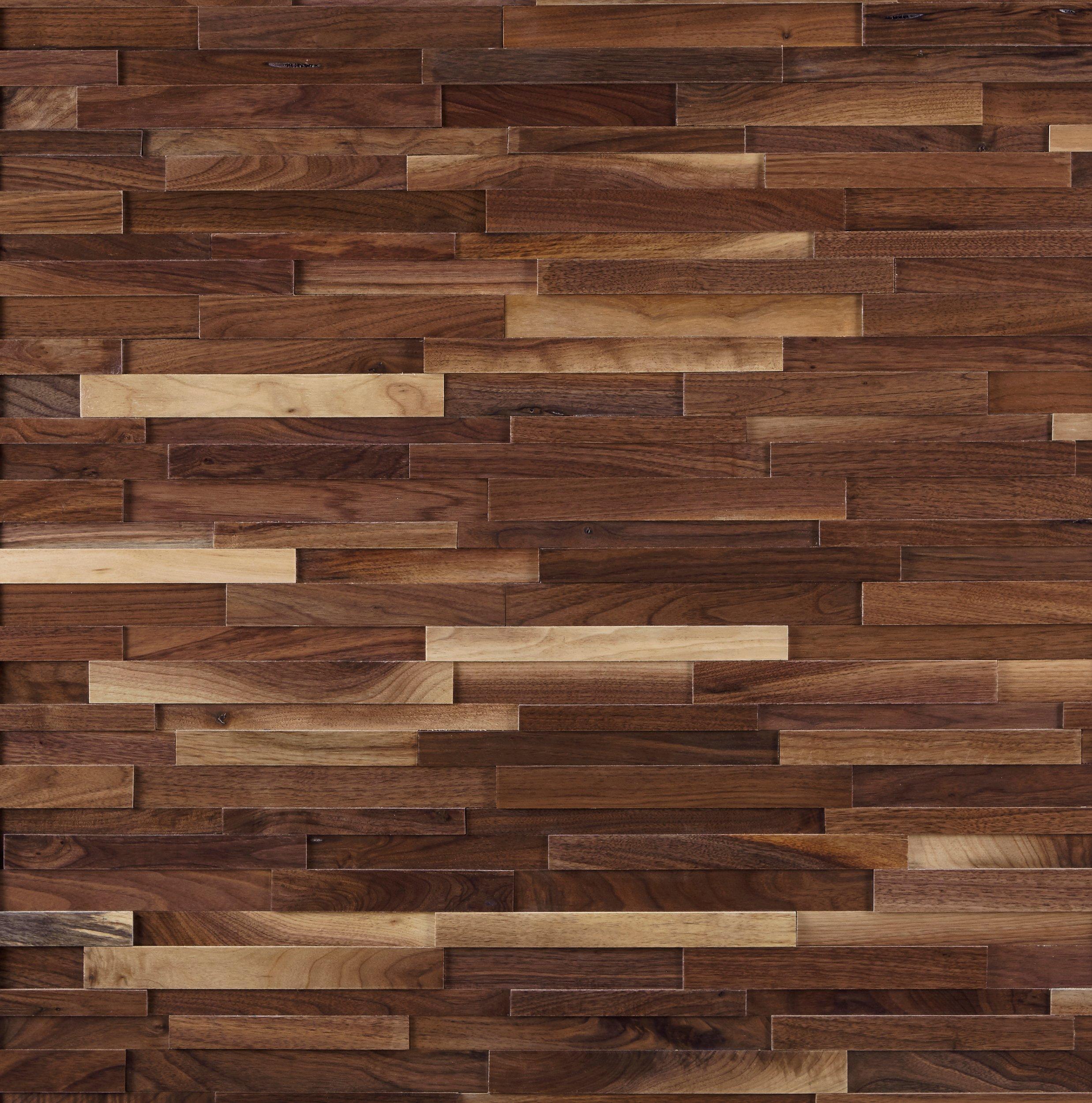Black Walnut Hardwood Wall Plank Panel 1 2 X 9 4 5 100224153 Floor And Decor