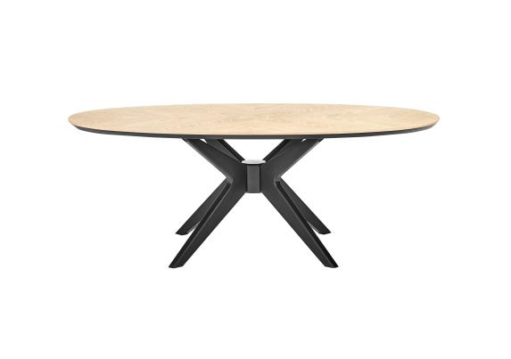 velodrome oval coffee table furniture